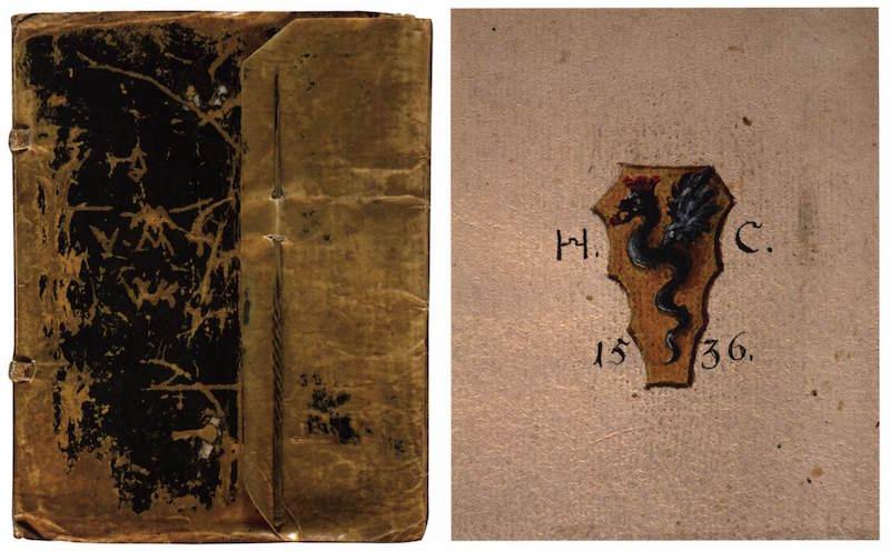 CRANACH, Hans Carnet de Voyage, 1536-37, Paper, 203 x 160 mm, Niedersächsisches Landesmuseum, Hannover