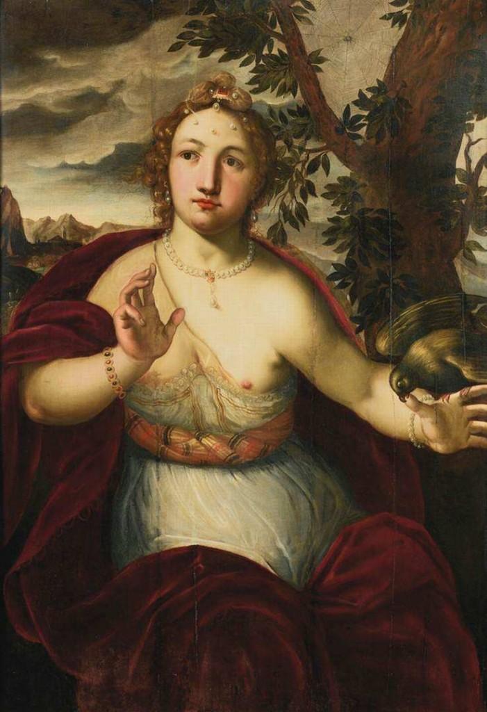 VEEN, Otto van Femme mordue par un perroquet, collection privée (source : WGA)