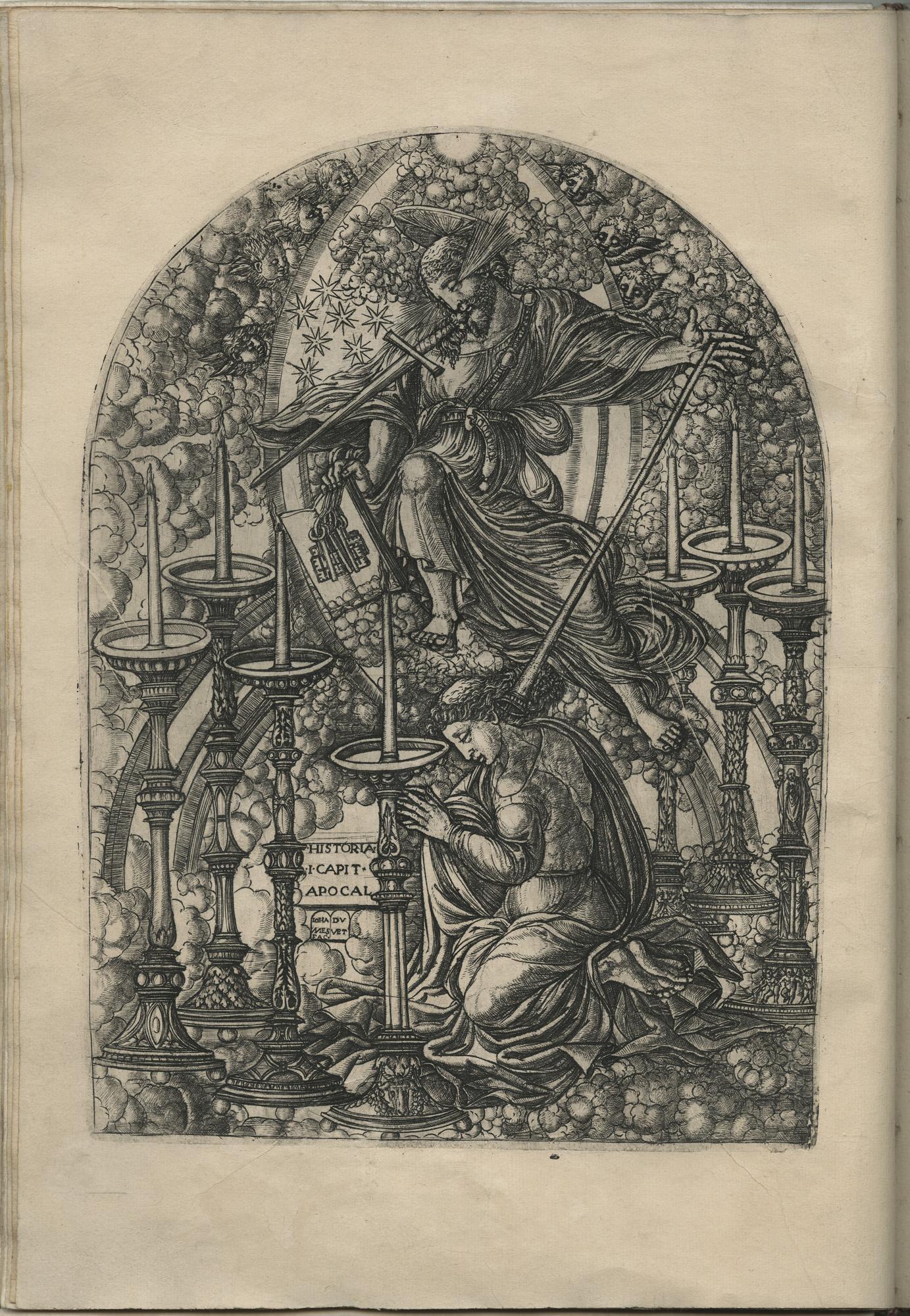 Jean Duvet, 2, Saint Jean en l'isle de Patmos…, 1546-1556, burin, 30,1x21,4. Musées de Langres, photographie de Valérie Auclair.