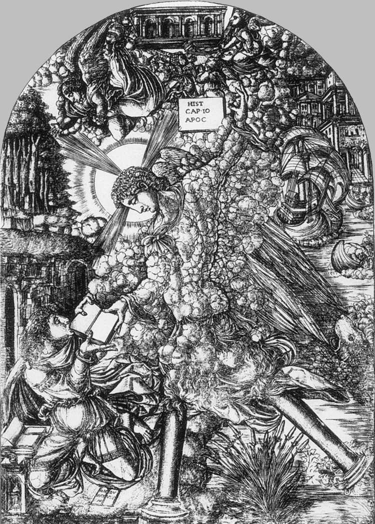 DUVET, Jean Apocalypse, .v1550 Gravure, British Museum, London