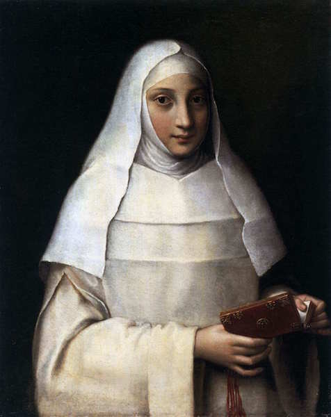 ANGUISSOLA, Sofonisba Portrait d'une nonne, 1551, Huile, City Art Gallery, Southampton (source : WGA)