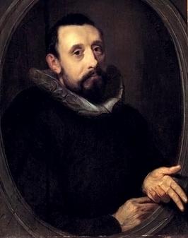 Gerrit Pietersz. Sweelinck, Portrait de Jan Pieterszoon Sweelinck, 1606, Den Haag, Gemeente Museum