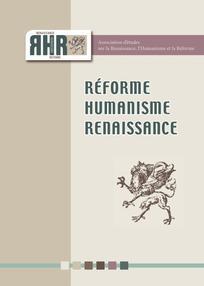 Lyon et les nouveaux Romans (XVIe siècle), dir. P. Mounier, Réforme, Humanisme, Renaissance, n° 82-83, 2016.