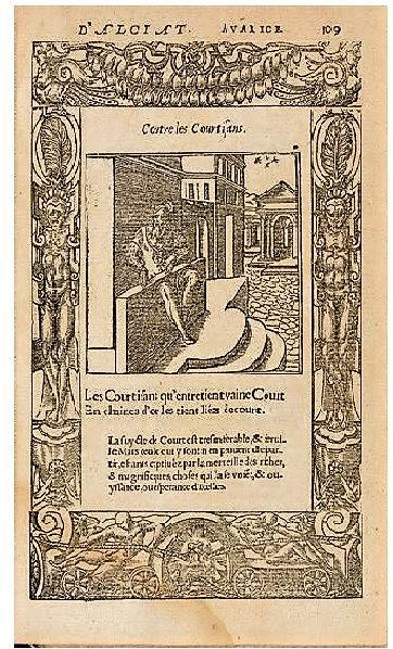 Les emblèmes d'Alciat, Lyon, 1549,