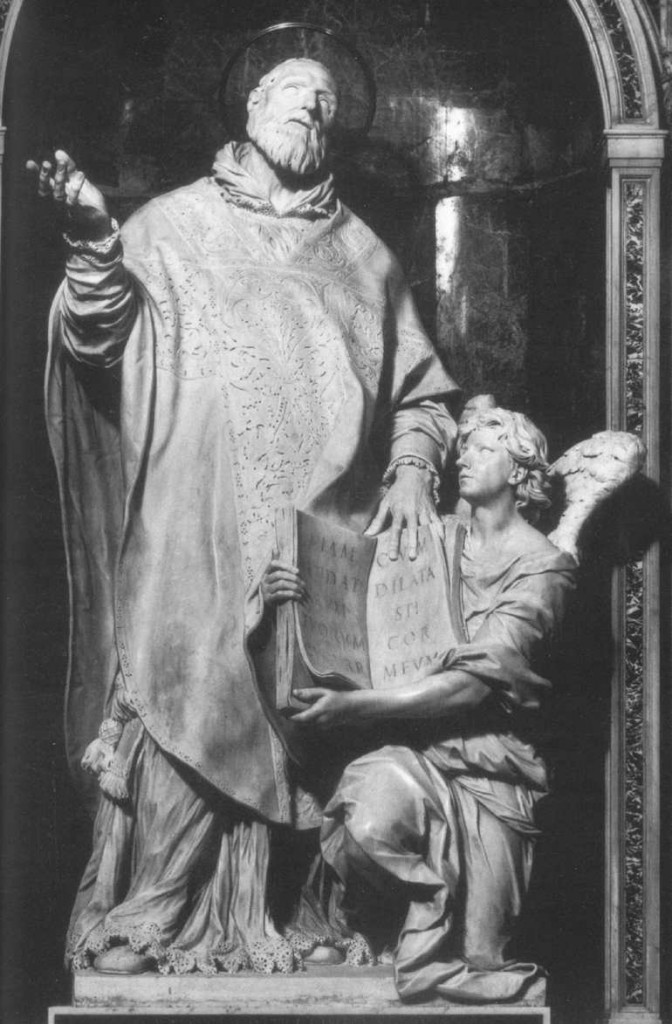 ALGARDI, Alessandro St Philip Neri 1636-38 Marble, height c. 300 cm Santa Maria in Vallicella, Rome