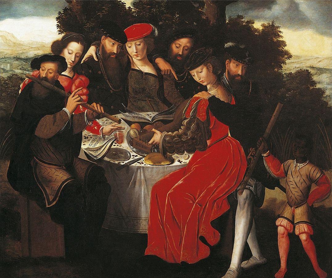 Ambrosius Benson, Concert, XVIe siècle, Musée des Beaux-Arts de Blois.