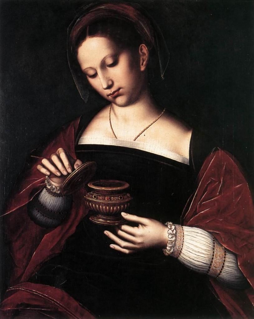 BENSON, Ambrosius Mary Magdalene , 69,5 x 55,5 cm Groeninge Museum, Bruges