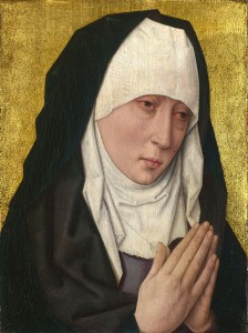 Atelier de Dieric Bouts, Mater dolorosa, vers 1470-1475, National Gallery, London.
