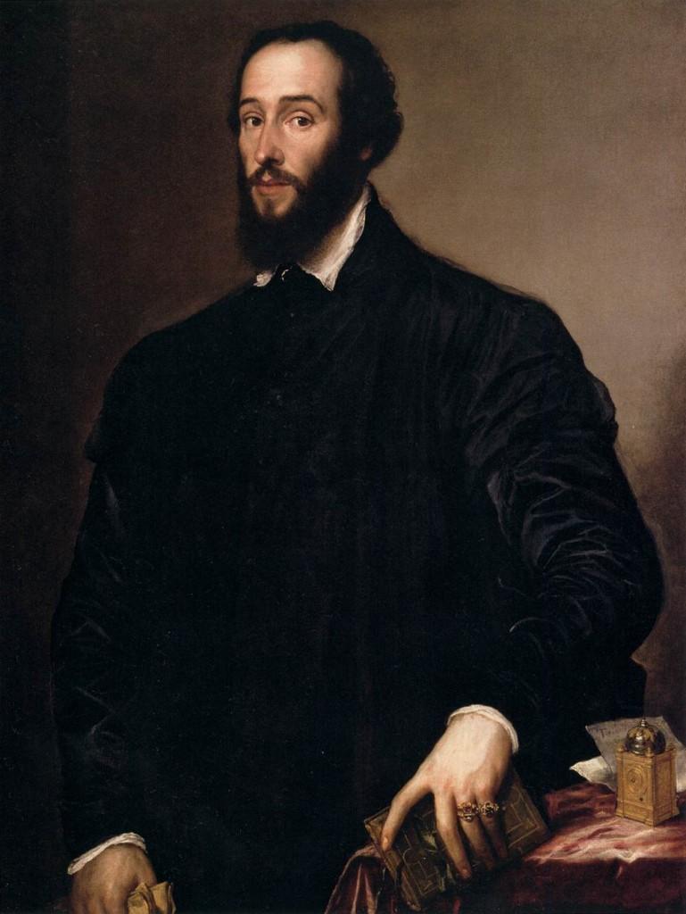 Vecellio Tiziano, Antoine Perrenot de Granvelle, huile sur toile, Musée des beaux-arts Nelson Atkins, USA (WGA)