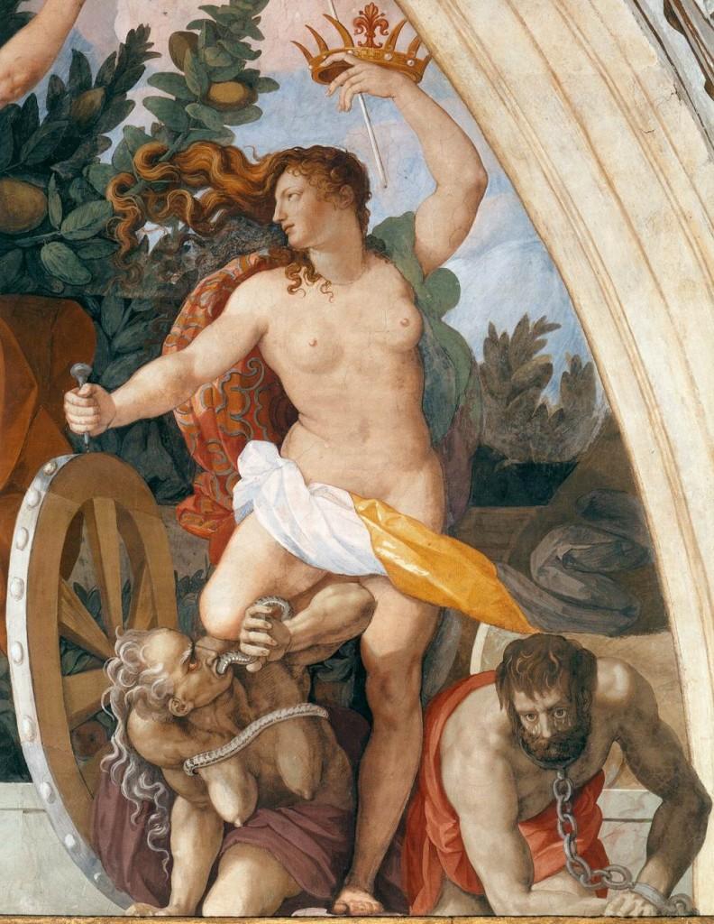 Alessandro Allori Lunette fresco (detail) 1578-82, Fresco, Villa Medici, Poggio a Caiano (source : wga)