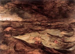 Joos de Momper, La tempête, vers 1610, Kunsthistorisches Museum, Wien.