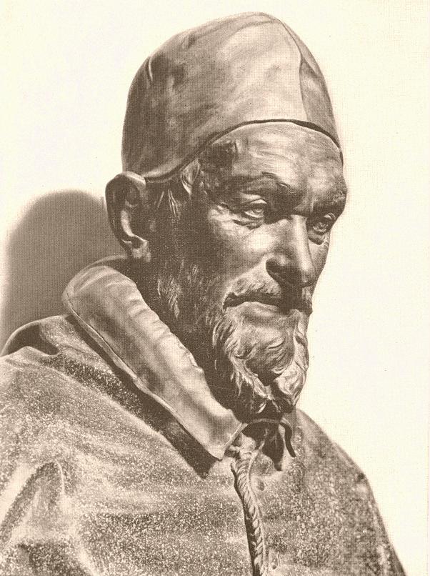 Alessandro Algardi, Buste du pape Innocent X, Galeria Doria Pamphilij, Rome, (source : WGA)
