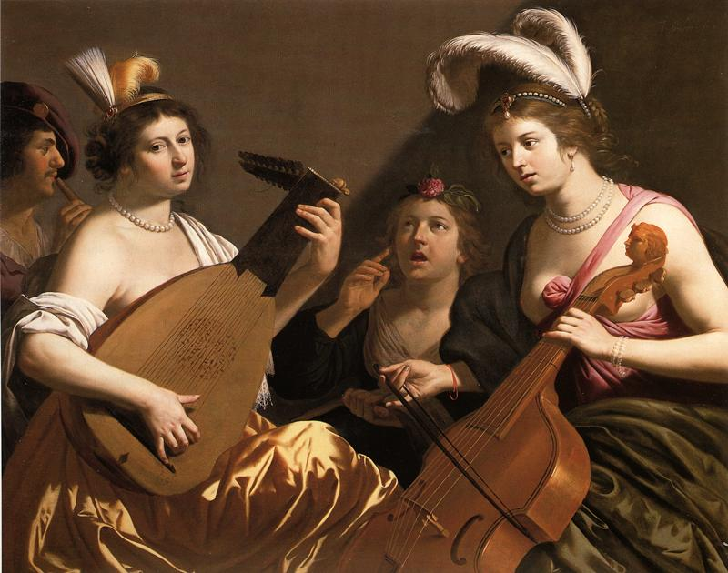 BIJLERT, Jan van The Concert 1635-40 Oil on canvas Private collection (source: WGA)