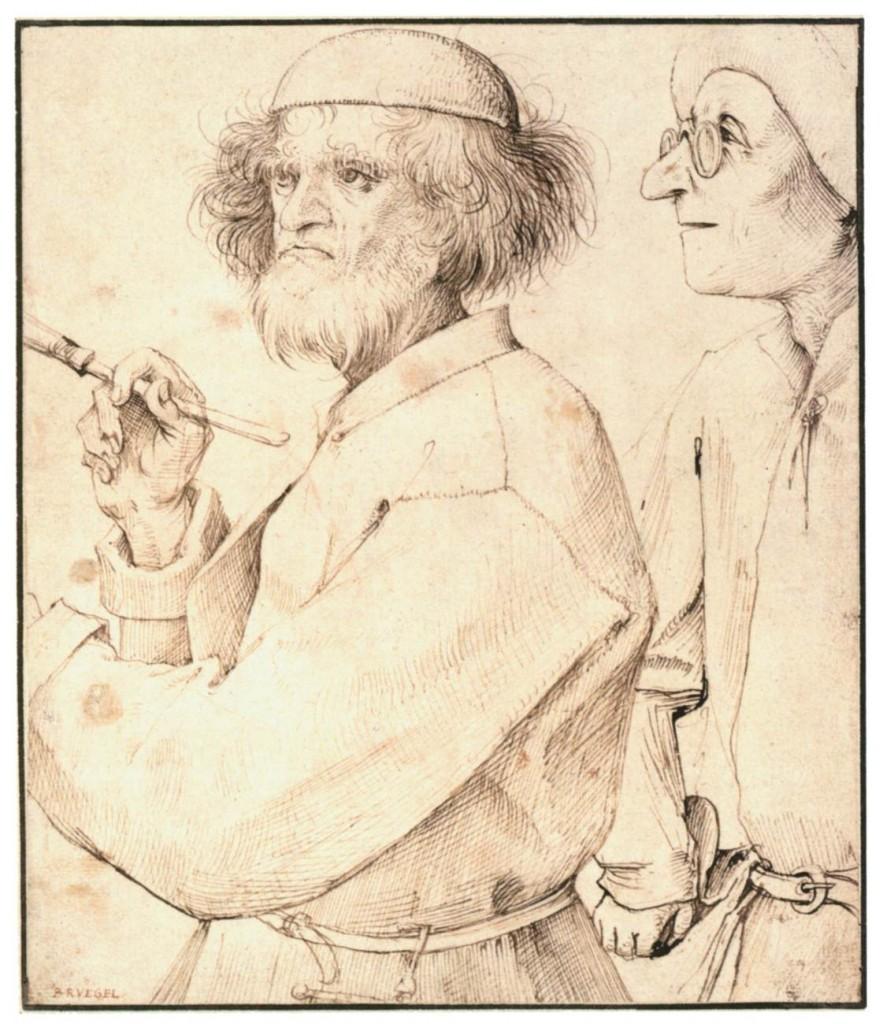 Le peintre et l'acheteur, Pierre l'Ancien Bruegel, vers 1565 (WGA)