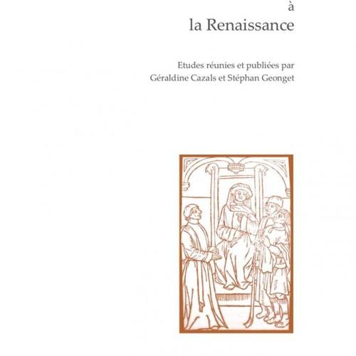 Parution : Les recueils de Plaidoyez à la Renaissance, dir. G. Cazals et S. Geonget