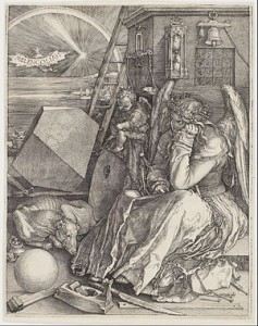 Albrecht Dürer, Melancholia I, 1514, Minneapolis Institute of Arts, Minneapolis.