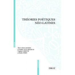 Théories poétiques néo-latines, Virginie Leroux, Emilie Séris