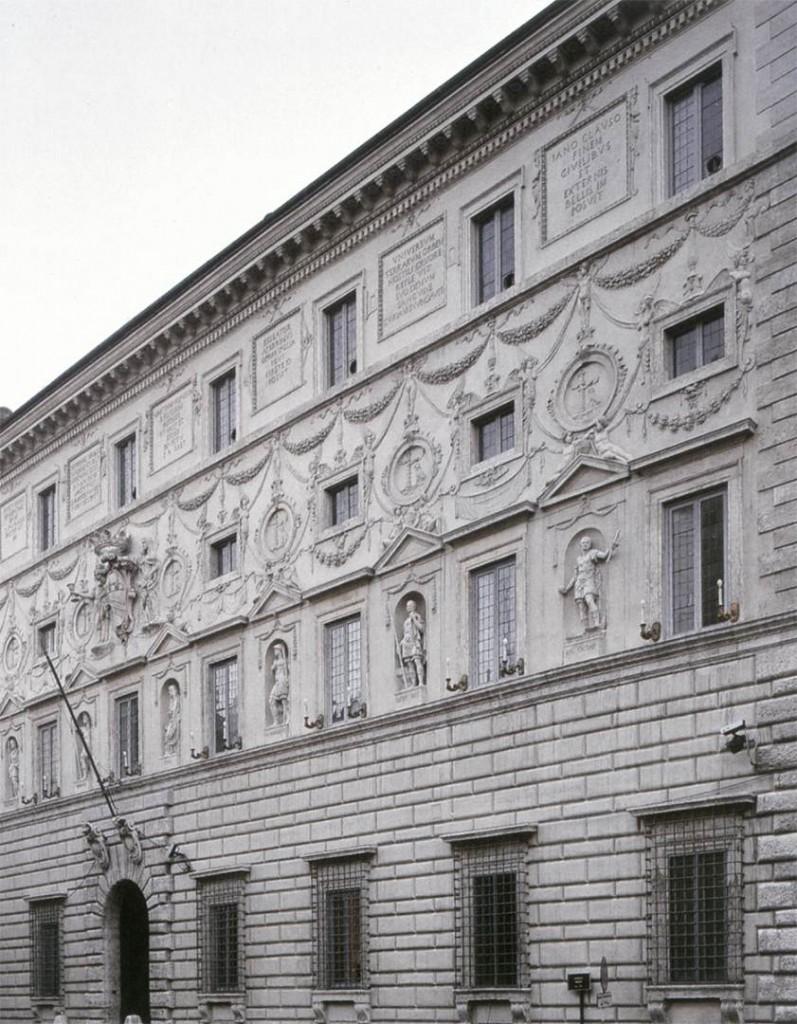 ARCHITECT, Italian Exterior view 1540 Photo Palazzo Spada, Rome (source : WGA)