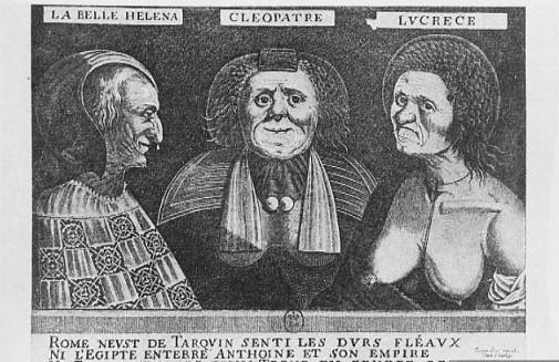 Gaspard Isaac, Les Trois Belles, c. 1650 (source : wikipedia)