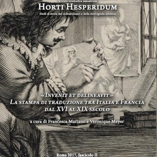 """""""Invenit et delineavit"""". La stampa di traduzione tra Italia e Francia dal XVI al XIX secolo"""