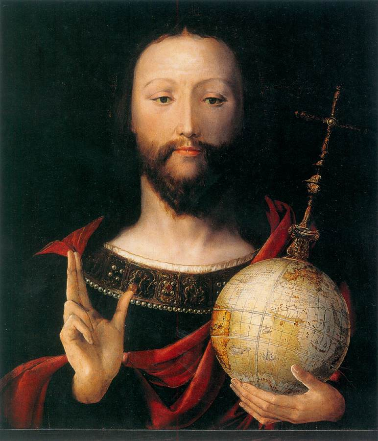 Oronce Finé Christ au Globe 1530,  Germanisches Nationalmuseum, Nuremberg