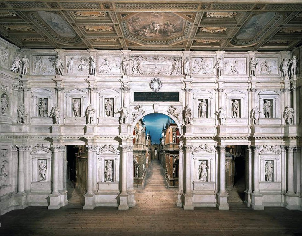SCAMOZZI, Vincenzo Teatro Olimpico, Vicenza (source : WGA)