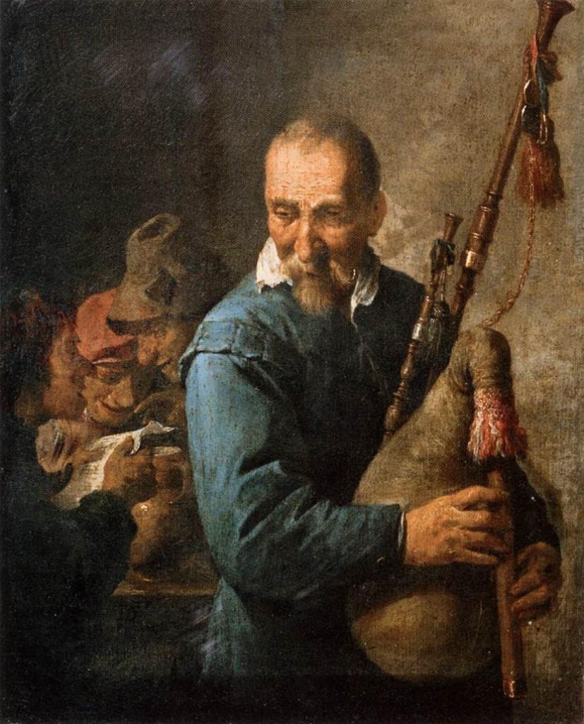 David Teniers le Jeune Le joueur de Musette, 1635-40 Musée du Louvre, Paris (Source: WGA)