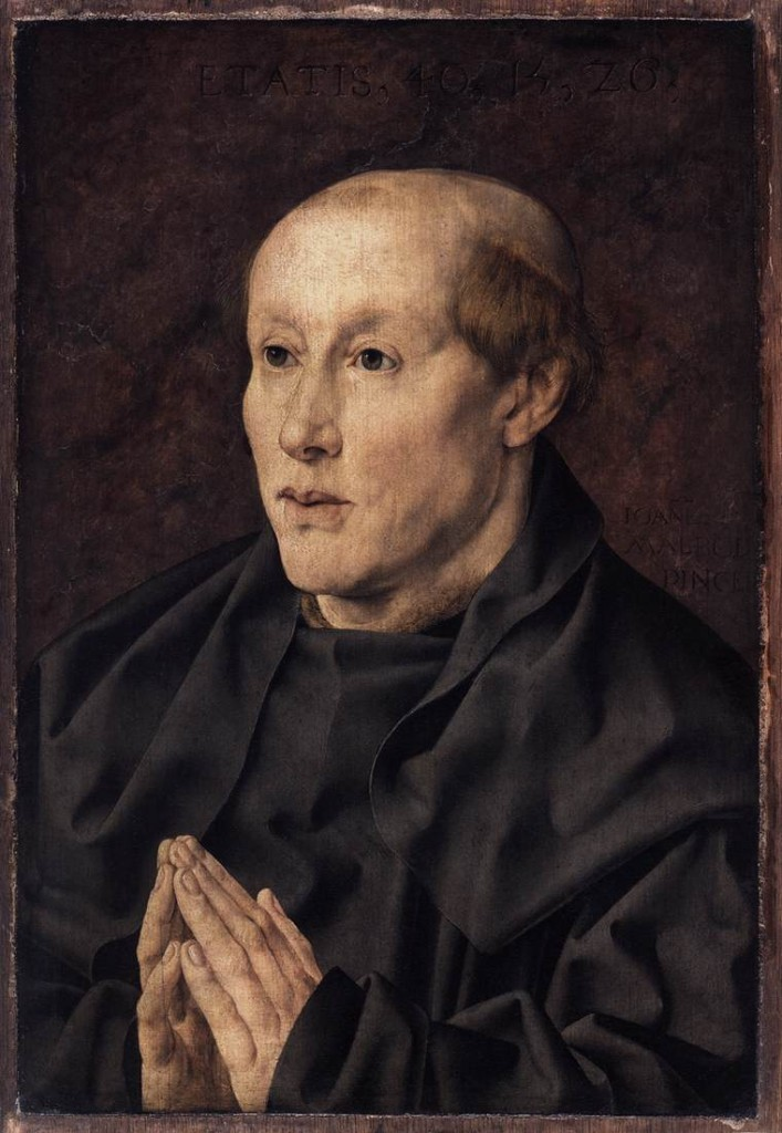 Portrait d'un moine, Jan Gossart, 1526, huile sur bois (WGA)
