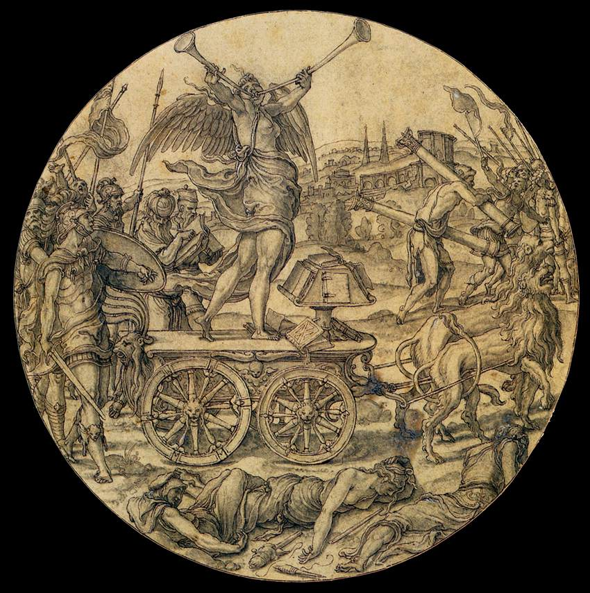 Le triomphe de la Renommée, Pierre Coecke van Aelst, 1640 (WGA)
