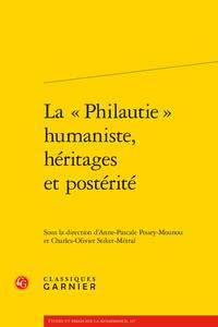 Parution : La « Philautie » humaniste, héritages et postérité