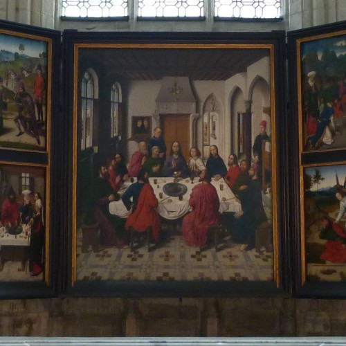 Valentine Langlais : Le pain et l'eucharistie dans les retables flamands du saint-sacrement (1550-1600).