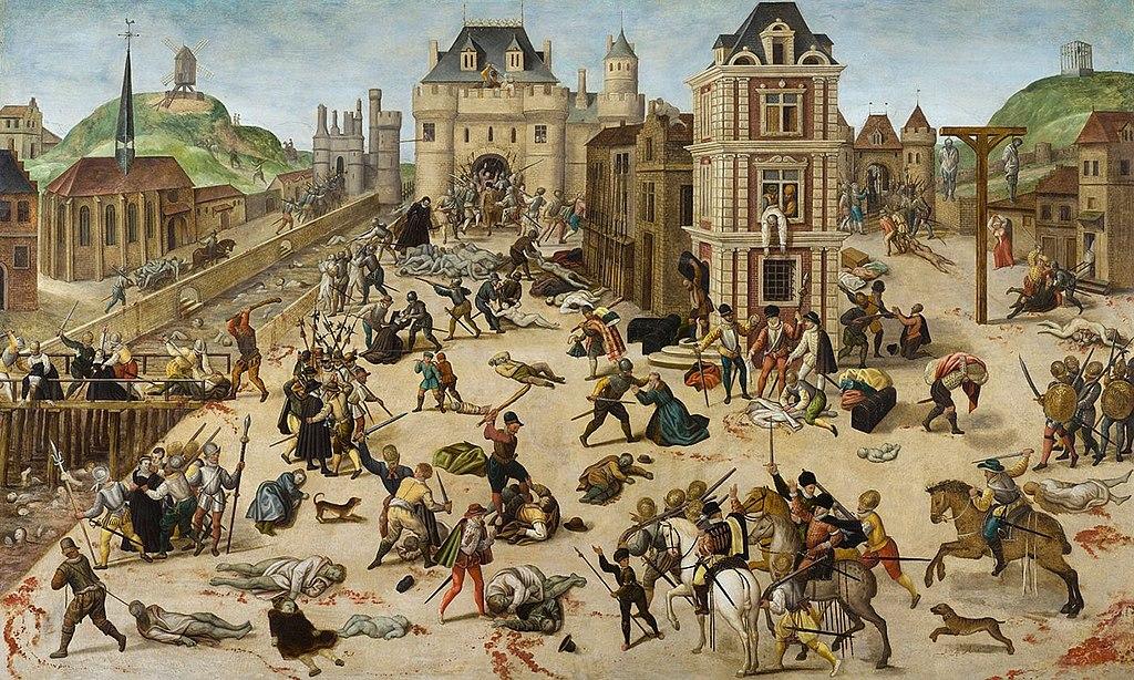 Massacre de la Saint Barthélemy, François Dubois, musée cantonal des Beaux-Arts de Lausanne