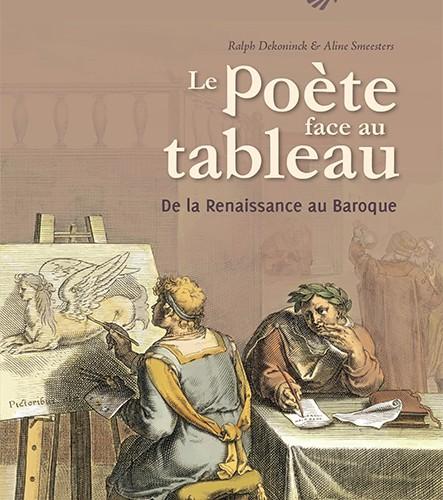Parution : Le poète face au tableau. De la Renaissance au Baroque