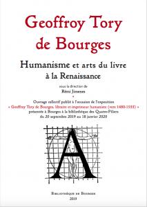 Couverture Geoffroy Tory de Bourges