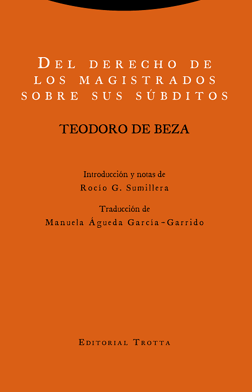 Couverture Teodoro de Beza