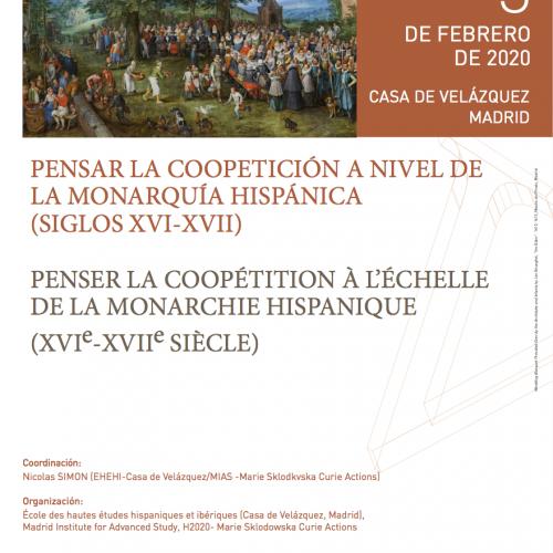 Colloque : Penser la coopétition à l'échelle de la monarchie hispanique (XVIe-XVIIe siècle)