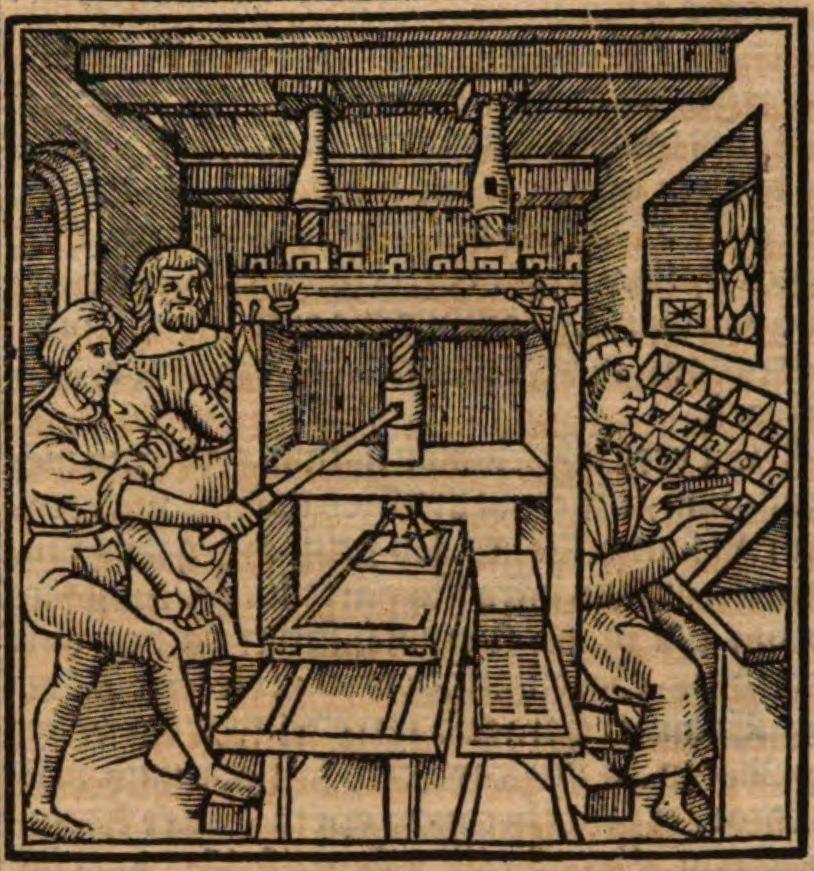 Barthélémy de Chasseneux, Catalogus gloriae mundi, Lyon, Denis de Harsy et Simon Vincent, 1529, f. 21v (lien : http://www.woodenpress.info/illustrations/1529Harsy.html)