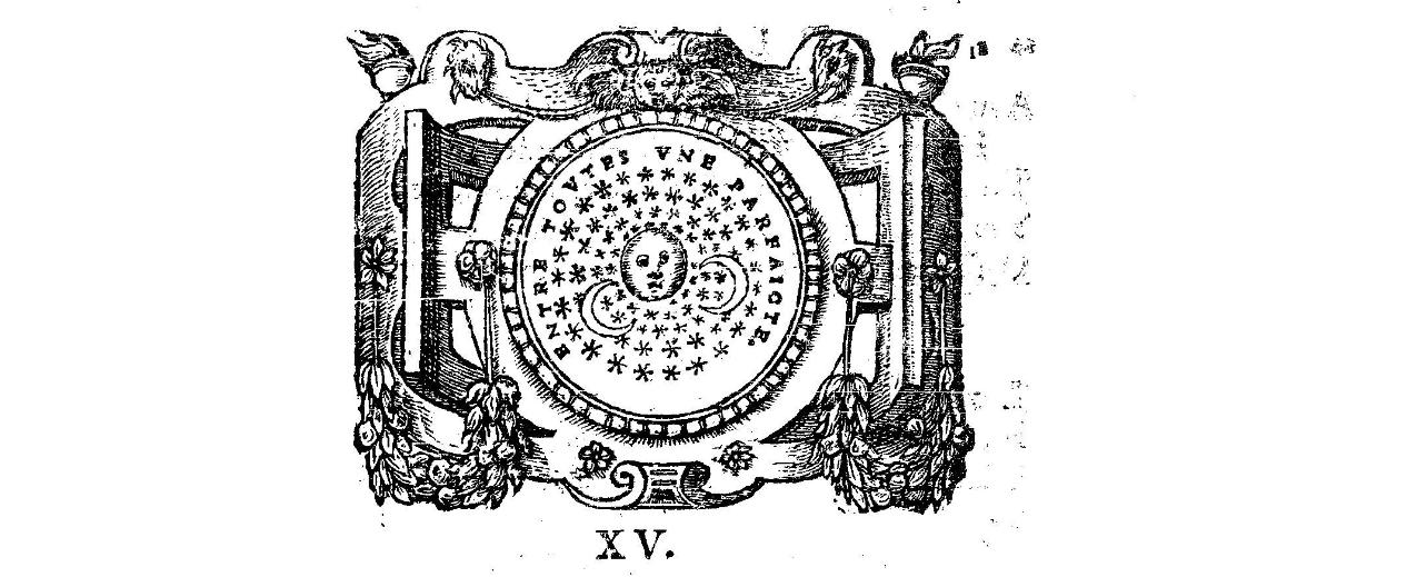 Scève - 2e emblème - entre toutes une parfaite