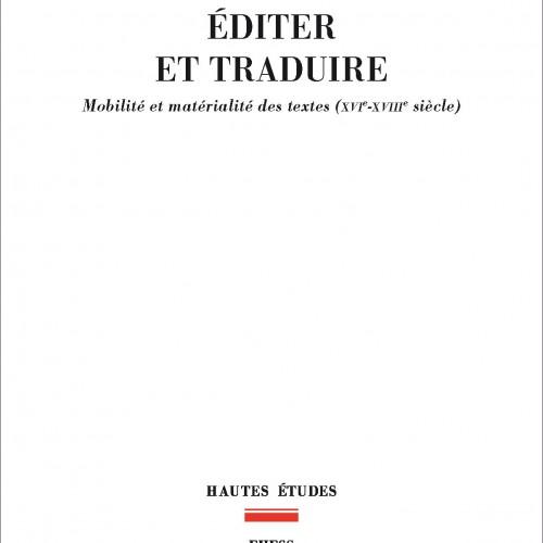 Roger Chartier - Editer et traduire