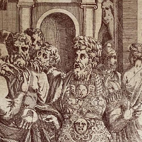 Estampes et dessins de l'école de Fontainebleau. Production, diffusion, collection.