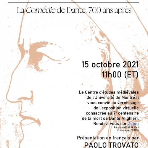 Vernissage de l'exposition virtuelle consacrée à Dante Alighieri